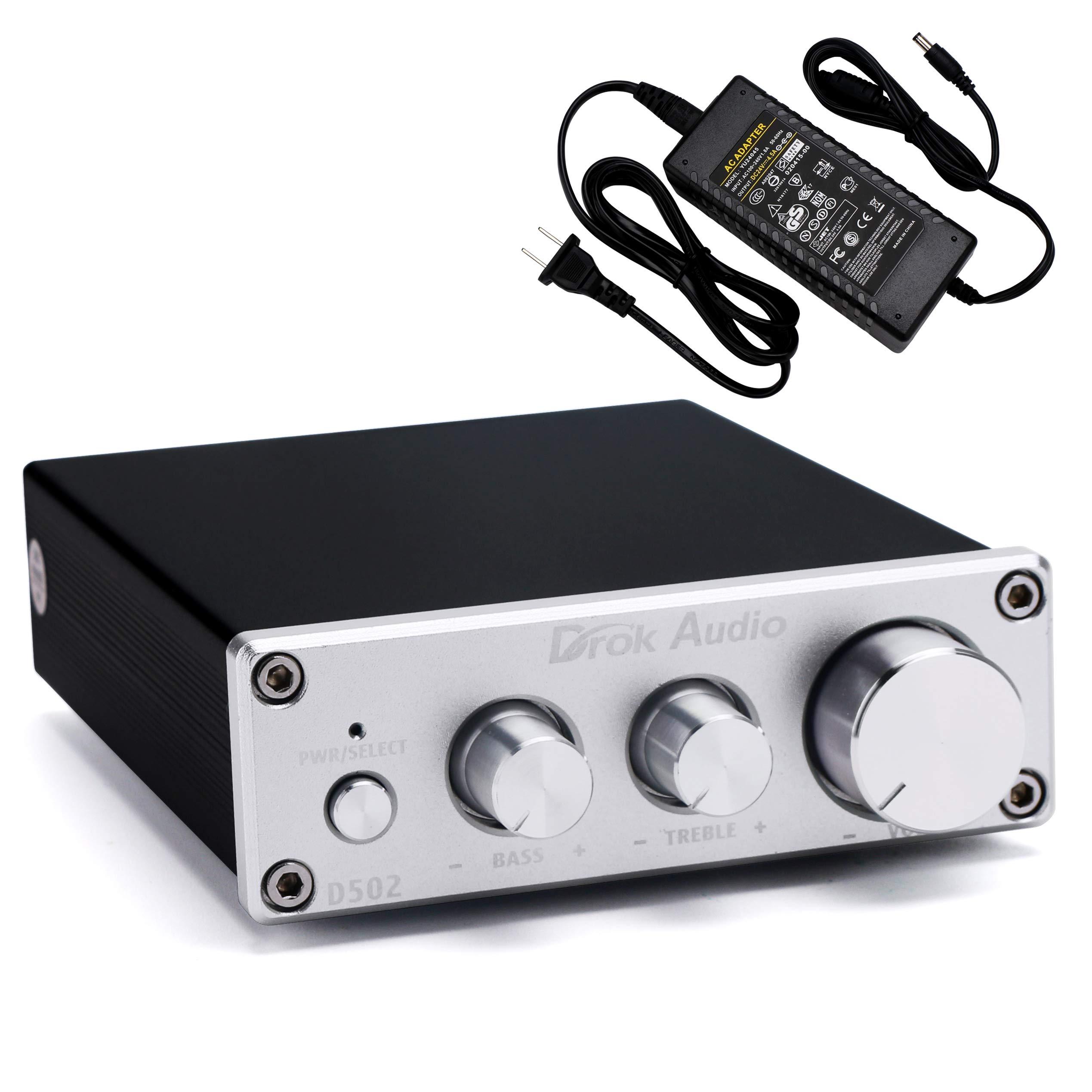 Amplifier DROK Channel Digital 12V 24V
