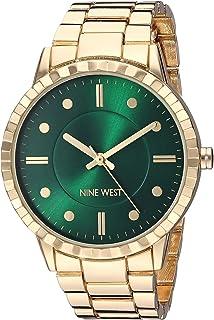 Nine West NW/2312GNGP - Reloj de pulsera para mujer, color dorado