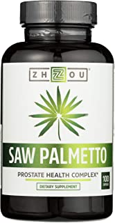 ZHOU NUTRITION Saw Palmetto Prostate Health Complex, 100 CT