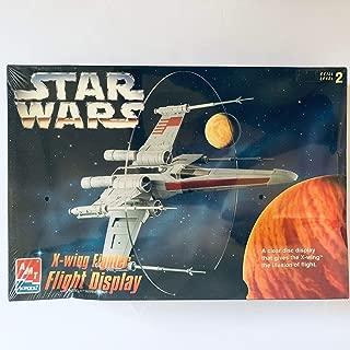 AMT #8788 Star Wars X-Wing Fighter Flight Display Model Kit,Needs Assembly