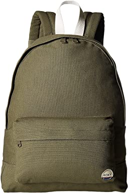 Sugar Baby Canvas Solid Backpack