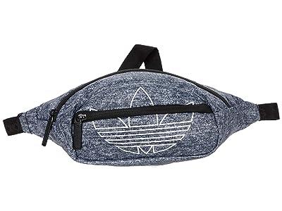adidas Originals Originals National Waist Pack (Onix Jersey/White) Handbags