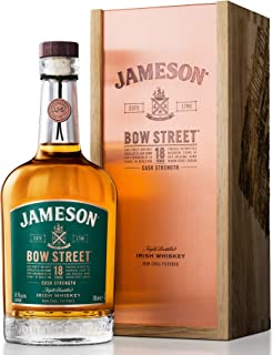 Jameson Bow Street Cask Strength Whiskey, 18 Jahre – Blended Irish Whiskey aus Ex-Bourbon & Sherry Fässern – Milder Whiskey aus Irland – 1 x 0,7 L