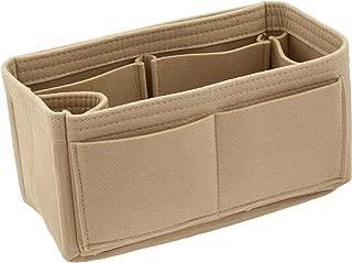 Felt Handbag Organizer Insert - Multi Pocket Bag and Tote Organizer Shaper Liner Insert