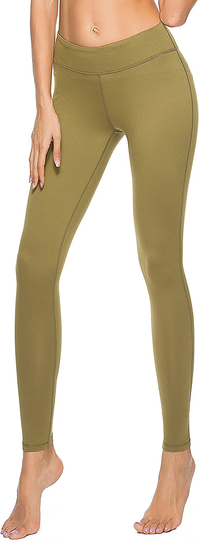 Olacia Womens High Waisted Workout Leggings Running Pants Tummy Control Soft Yoga Leggings Power Flex SXXL