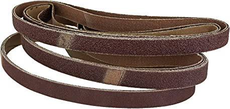 96 stuks weefsel-schuurbanden – 13 x 451 mm – korrel elk 16 x korrel 40, korrel 60, korrel 80, korrel 180, korrel 240 / sc...