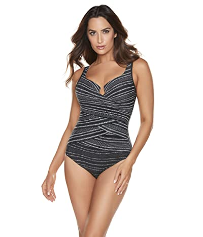 Miraclesuit No Static (At All) Layered Escape One-Piece Women