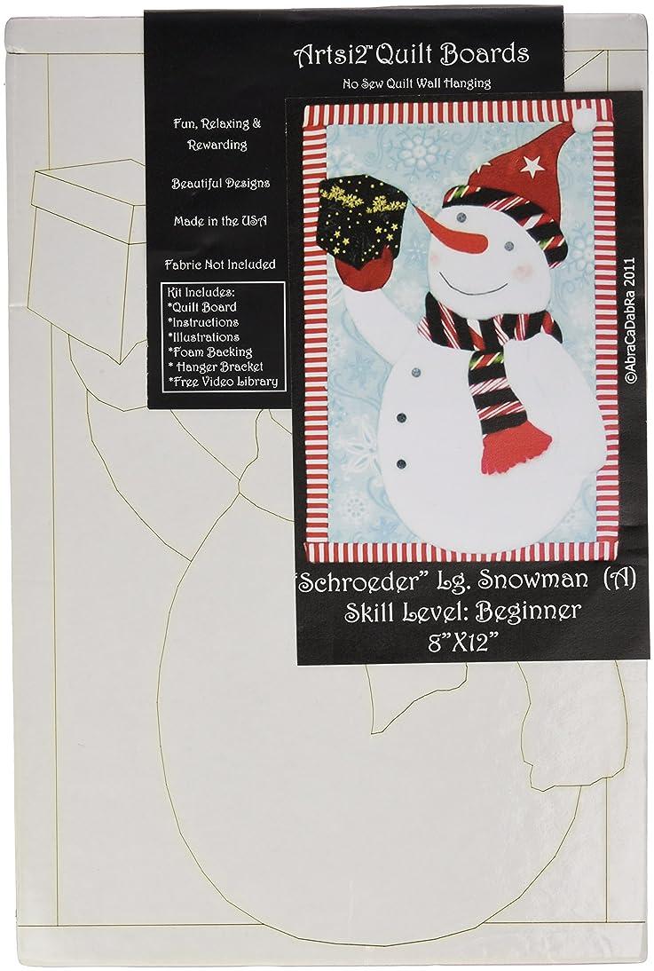 Artsi2 A2LGSCH Snowman Schroeder Wall Hanging Kit, Large