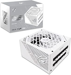 Asus ROG Strix 850G White Edition 850W Gaming Power Supply, with 80 PLUS Gold certification, brings premium performance to...