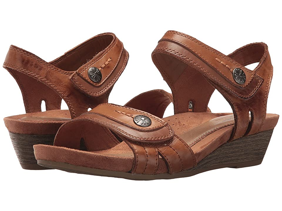 Rockport Cobb Hill Collection Cobb Hill Hollywood Two-Piece Sandal (Tan Leather) Women
