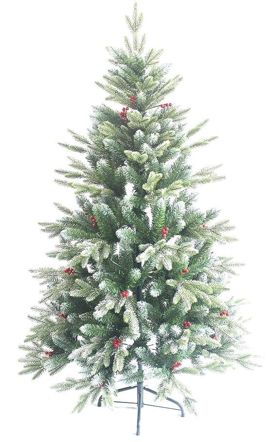 意図する軽量冗談でAISHITE クリスマスツリー ヌードツリー xmas 赤い果付き 120cm 150cm 北欧 おしゃれ christmas tree 葉先に雪が降り積もる
