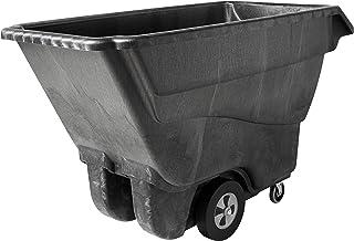 Rubbermaid Commercial Products FG9T1500BLA Chariot à Bascule en Mousse Structurée 567kg, Noir