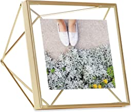 Umbra 313017-221 Prisma Frame Floating Wall or Desk Photo Display, 4 x 4 Inch