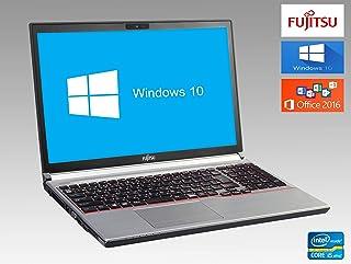 【Win 10搭載】【Microsoft Office 2016搭載】FUJITSU LIFEBOOK E753G/第3世代Core i5 vPro 2.7GHz/メモリー:8GB/SSD:480GB/DVDマルチ/大画面15.6インチ/無線L...