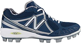 New New Balance Men's MB2000 TPU Molded Low-Cut Cleat Size 5 Navy/White
