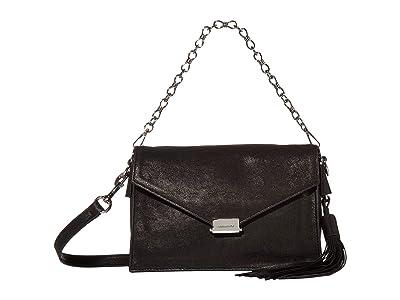 AllSaints Miki Crossbody (Black) Handbags
