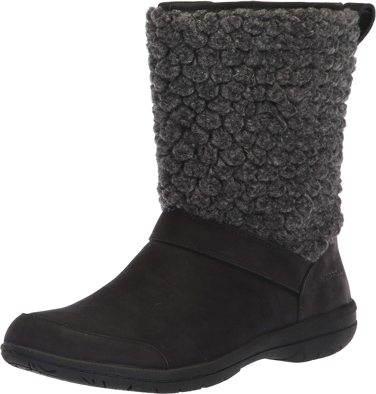 Merrell Womens Encore Kassie Tall Wool Fashion Boot