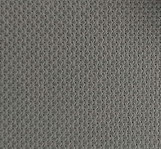 "KCS 19"" x 28"" 14CT Counted Cotton Aida Cloth Cross Stitch Fabric (Grey)"