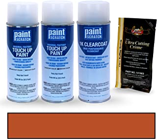 PAINTSCRATCH Ruby Red Tricoat RR for 2013 Ford F-Series - Touch Up Paint Spray Can Kit - Original Factory OEM Automotive Paint - Color Match Guaranteed