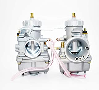 NEW Pair Carburetor For Honda CB350 CB350G CB360 CB360G CB360T CL350