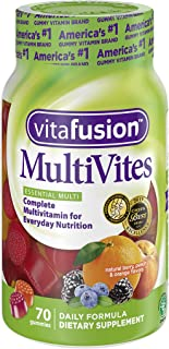 Vitafusion MultiVites Gummy Vitamins, 70 count