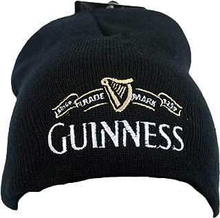 Beanie Hat with White Traemark Logo, Black Color