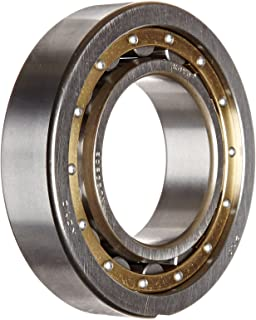 Koyo NU209 C3FY Cylindrical Roller Bearing, Removable Inner Ring, Single Row, Open, C3 Clearance, Brass/Bronze Cage, Metric, 45mm ID, 85mm OD, 19mm Width, 19000rpm Maximum Rotational Speed, 4300lbf Static Load Capacity, 1610lbf Dynamic Load Capacity