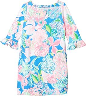 Lilly Pulitzer Girls' Little UPF 50+ Mini Sophie Ruffle Dress