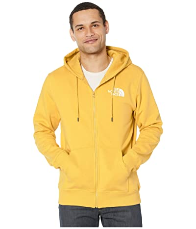 The North Face Half Dome Full Zip Hoodie (Bamboo Yellow) Men