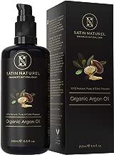 Aceite de Argán Orgánico Certificado Vegano 200ml - 100% Puro, Nativo y Prensado en Frío - Cuidado Hidratante Antiarrugas para Piel, Pelo y Uñas - Cosmética Natural