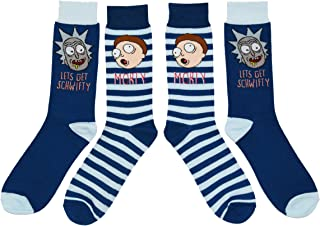 Get Schwifty 2 Pack Casual Crew Socks