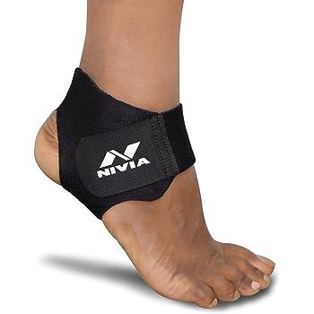 NIVIA Orthopedic Basic Ankle Support (Black)