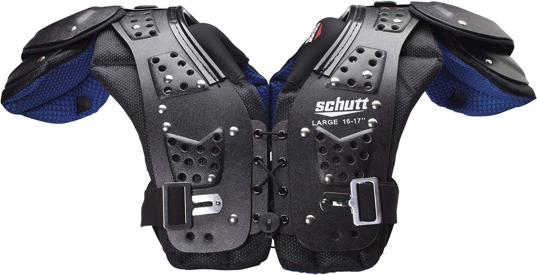 Schutt Sports Mid Flex 4.0 Max Branded goods 50% OFF Helmet Blue Black and XX-L Facemask
