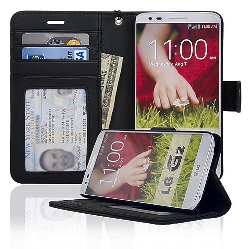 LG G2 Print Flip Wallet Case Cover