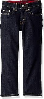 Boys' Slim Fit Elastic Waistband Jeans