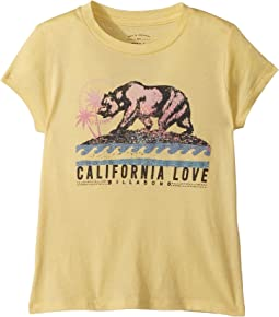 Billabong Kids Cali Bear Love Tee (Little Kids/Big Kids)