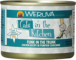 Weruva Cats in The Kitchen Grain-Free Wet Cat Food Cans