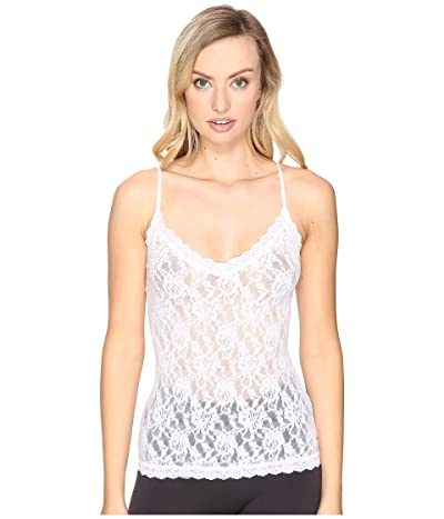 Hanky Panky Signature Lace V-Front Cami (White) Women