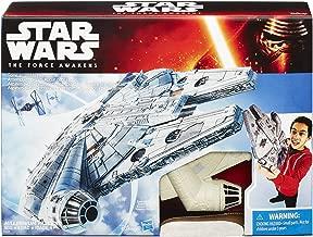 Star Wars: The Force Awakens Millennium Falcon Spaceship (9.5 x 7 Inches)