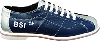 BSI Dual Size Rental Shoes, Blue/Silver, 8.5