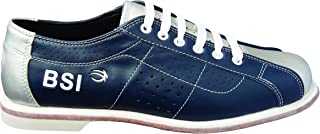 BSI Dual Size Rental Shoes, Blue/Silver, 8