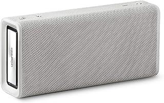 Urbanista Brisbane trådlös högtalare, Bluetooth 5.0, 10-timmars speltid, stänkskydd, 16 W drivkraft, bärbar – vit