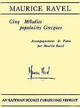 ravel cinq melodies populaires grecques