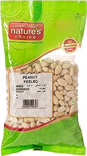 Natures Choice Peanut Peeled - 400 gm