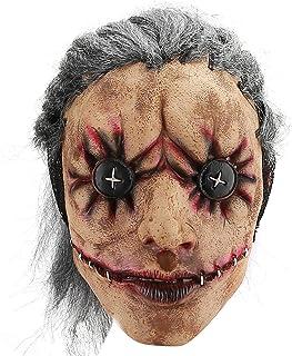 Hautton Máscara de Halloween para Adulto, Máscara