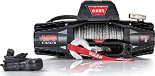WARN 103253 VR EVO 10-S Standard Duty Winch with Synthetic Rope - 10,000 lb. Capacity