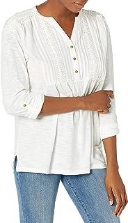 Women's Gigi Jersey Roll Tab Sleeve Top