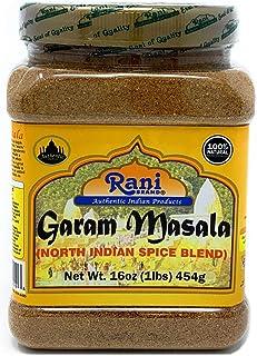 Rani Garam Masala Indian 11 Spice Blend 1lb (16oz) 454g ~ Salt Free | All Natural | Vegan | Gluten Friendly | Non-GMO