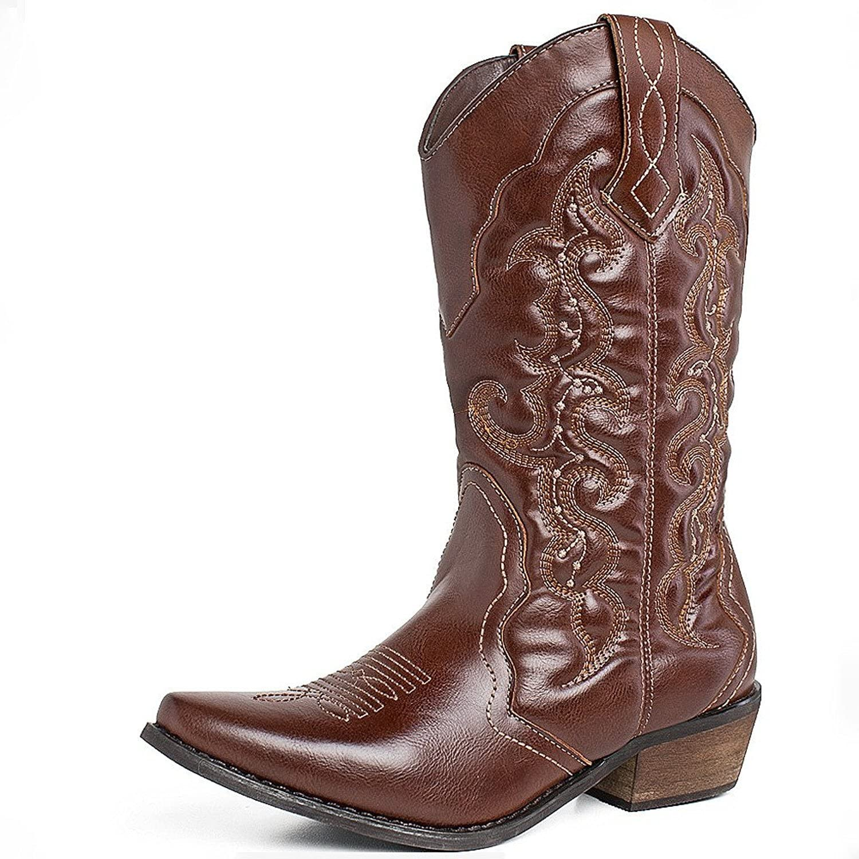 SheSole Women's Cowgirl Western Cowboy Boots