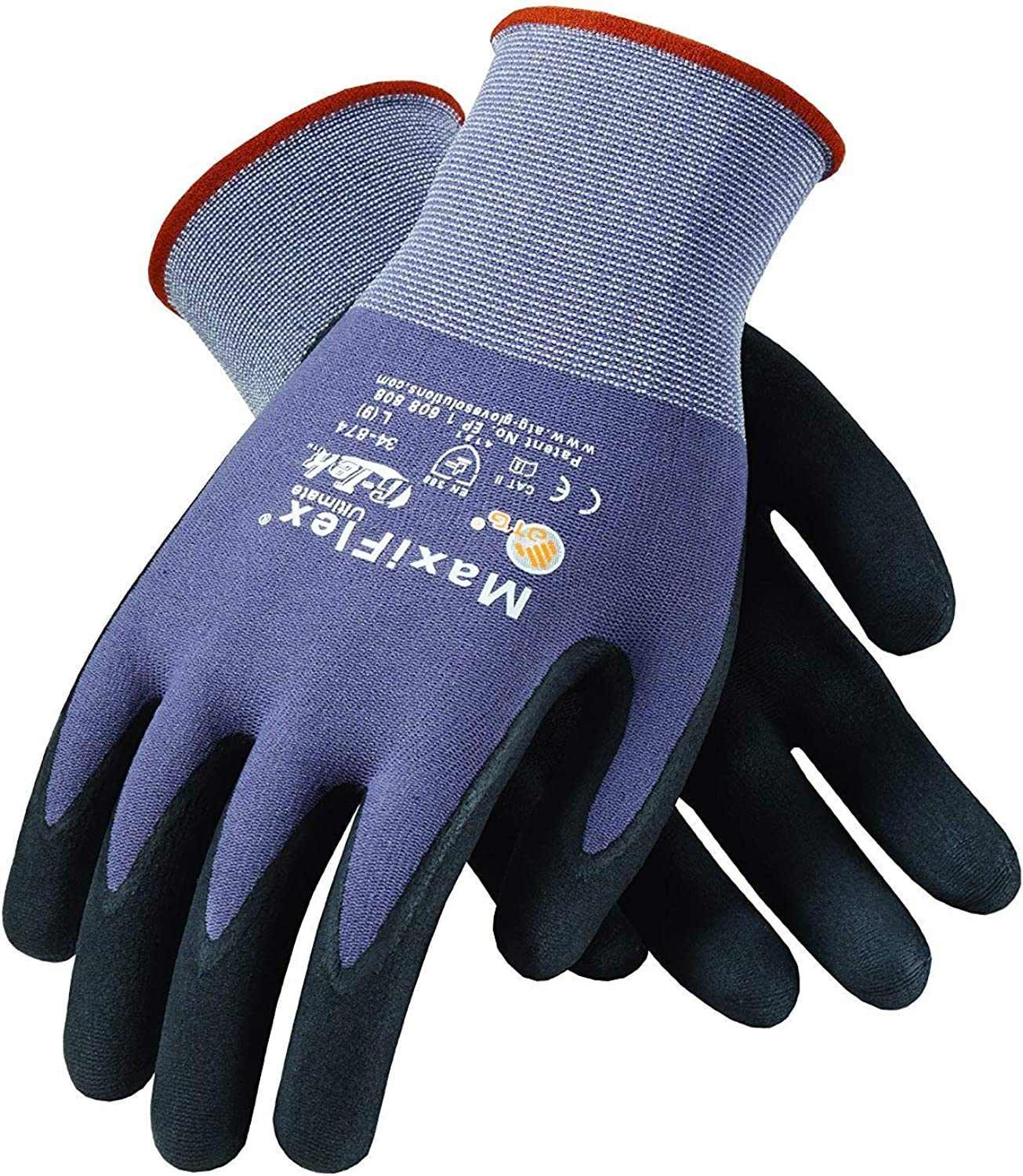 12 Pairs Weekly update Pack 2021 spring and summer new MaxiFlex 34-874 Pal Gloves Grip Micro-Foam Nitrile